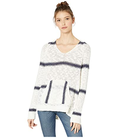 Roxy Airport Vibes Stripe Sweater (Mood Indigo Airport Stripe) Women