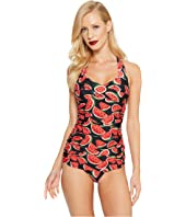 Unique Vintage - Hayward One-Piece Sheath Swimsuit