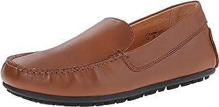 906f8f761fe umi Saul III Uniform Mocassin Driver Uniform Slip-On Uniform Loafer (Big Kid )