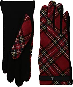 LAUREN Ralph Lauren - Tartan RLL Monogram Touch Glove