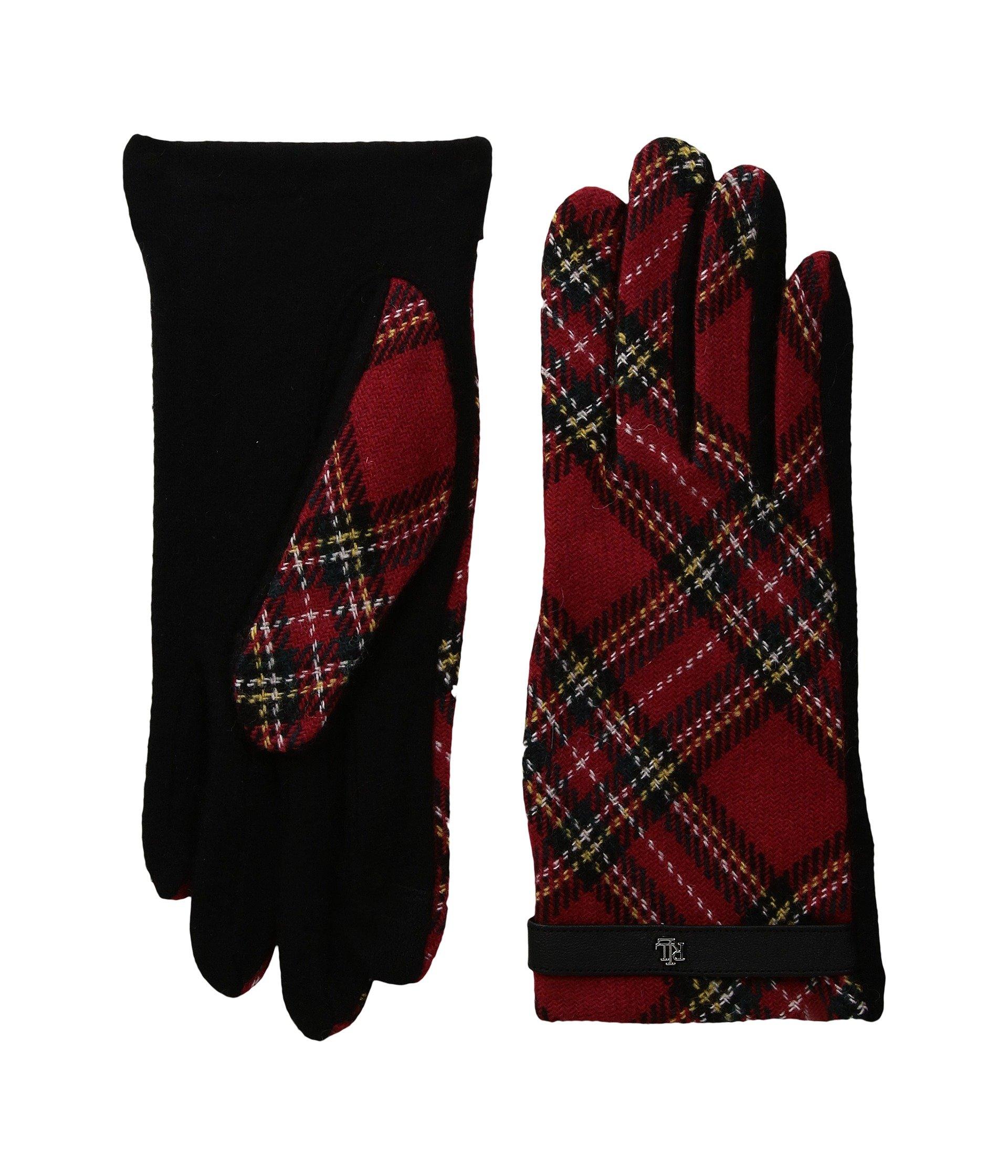 Tartan RLL Monogram Touch Glove