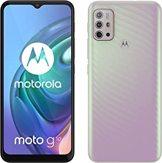 Motorola Moto G10 Dual-SIM 64GB Factory Unlocked 4G/LTE Smartphone (Sakura Pearl) - International Version