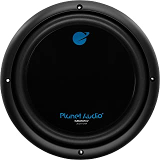 $43 » Planet Audio AC10D 10 Inch Car Subwoofer - 1500 Watts Maximum Power, Dual 4 Ohm Voice Coil, Sold Individually (Renewed)