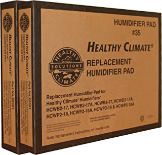 Lennox Healthy Climate Humidifier Pad # 35 Part No. X2661 Case of 2