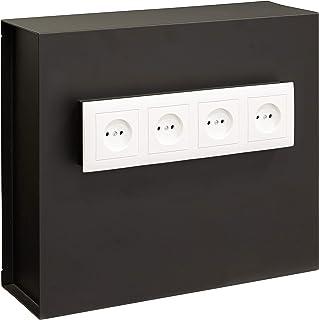 comprar comparacion Arregui Caja Fuerte camuflada para Rejilla Enchufe Color Negro 23000W-S2