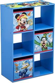 Delta Children 6 Cubby Storage Unit, Disney Mickey Mouse