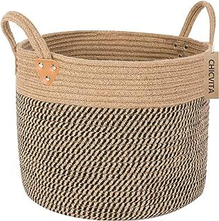 large jute basket