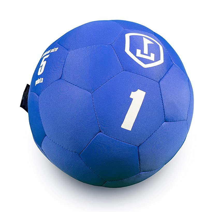 soccergolf Pelota - Soft Style Soccer Ball - Size 5 - Indoor and Outdoor