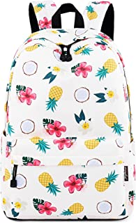 Joymoze Waterproof Girl School Backpack Fit for 15.6 Laptop Children Bookbag Fruit