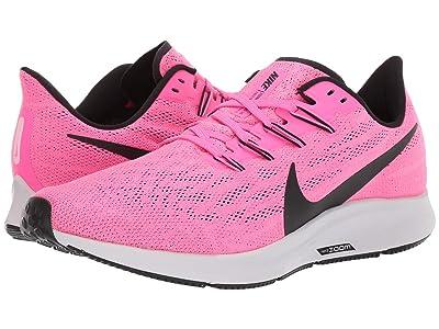 Nike Air Zoom Pegasus 36 (Pink Blast/Black/Vast Grey) Men