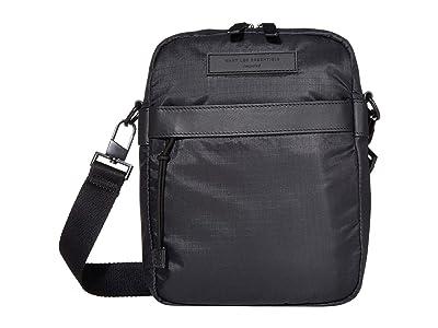WANT Les Essentiels Crossbody Messenger (Black Eco Nylon/Black) Messenger Bags