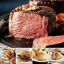 Omaha Steaks Filet Mignon Favorites (20-Piece with Filet Mignons, Burgers, Boneless Chicken Breasts, Potatoes au Gratin, Caramel Apple Tartlets)