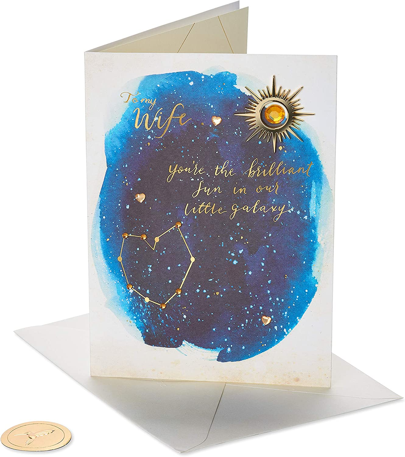 Papyrus Mother's Day Card Factory outlet for 100% quality warranty! Wife Little Galaxy Our