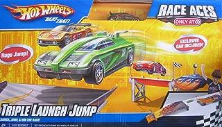 Hot Wheels Race Aces Triple Launch Jump Race Set - Target Exclusive (2009)