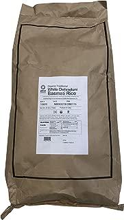 Lotus Foods Gourmet Organic White Basmati Rice, 25 Pound