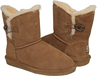 BEARPAW Women's Rosie Shearling Boots 1653-W Hickory