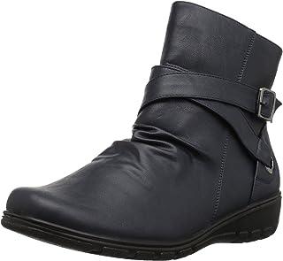 حذاء برقبة حتى الكاحل للسيدات من إيزي ستريت