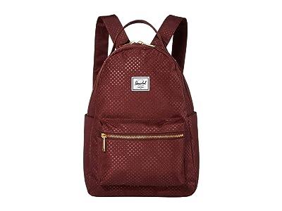 Herschel Supply Co. Nova Small (Plum Dot Check) Backpack Bags