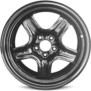 Road Ready Car Wheel For Chevrolet Malibu (08-12) Saturn Aura (07-10) Pontiac G6 (07-10) 17 Inch 5 Lug Steel Rim Fits R17 Tire - Exact OEM Replacement - Full-Size Spare