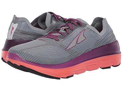 Altra Footwear Duo 1.5 (Gray/Coral) Women