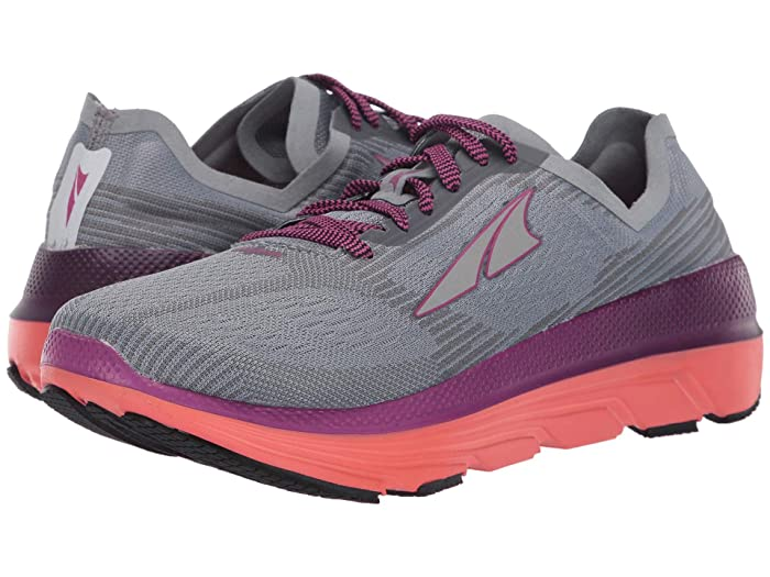 Altra Footwear  Duo 1.5 (Gray/Coral) Womens Running Shoes