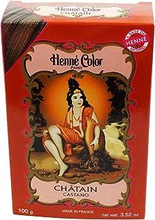 SITARAMA - Henné Color - Henna Hair Colouring Power - Chestnut Brown - 100 gr