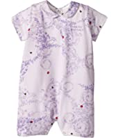 Versace Kids - Barocco Lady Bug Print Collar Romper (Infant)