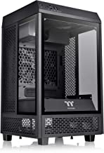 Thermaltake Tower 100 Black Edition Tempered Glass Type-C (USB 3.1 Gen 2) Mini Tower Computer Chassis Supports Mini-ITX CA...