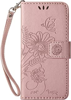 kazineer Case for Samsung Galaxy M11/A11, Premium Leather Flip Wallet Cover with Card Slots Phone Case for Samsung Galaxy ...