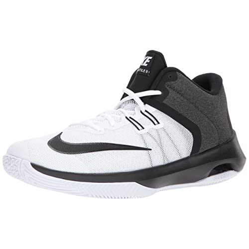 timeless design b0142 2260c Nike Mens Air Versitile II Basketball Shoe WhiteBlack 12.0 Regular US