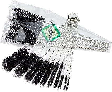 10 nylons brosses de nettoyage en acier inoxydable pour pipe à tabac ~PL