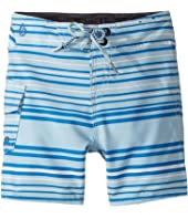 Volcom Kids - Magnetic Liney Mod Boardshorts (Toddler/Little Kids)
