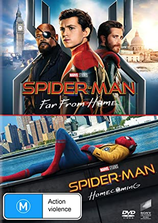 2 MOVIE FRANCHISE PACK (SPIDER-MAN: FAR FROM HOME / SPIDER-MAN: HOMECOMING) - 2 DISC - DVD