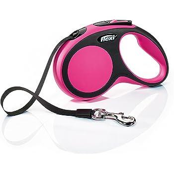 FLEXI Comfort Retractable Dog Leash in Pink, 16'