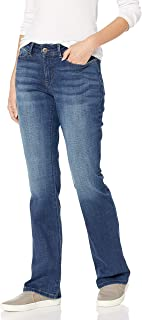 Women's Modern Series Curvy Fit Bootcut Jean with Hidden Pocket