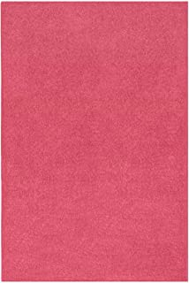 Best solid pink area rug Reviews