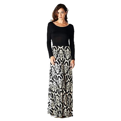 bd2930418f4 On Trend Women s Seasons Change Maxi Dress