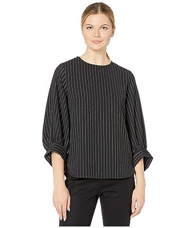 Karen Kane Blouson Sleeve Top (Stripe) Women