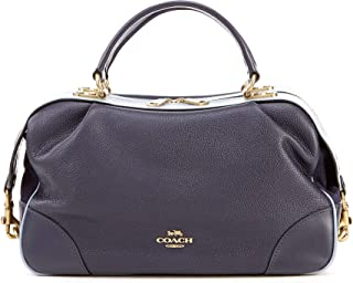 COACH Lane Top Zip Satchel Bag