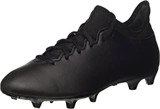 X 17.3 FG Mens Football Boots Soccer Cleats (UK 7.5 US 8 EU 41 1/3, Black Black Black S82364)