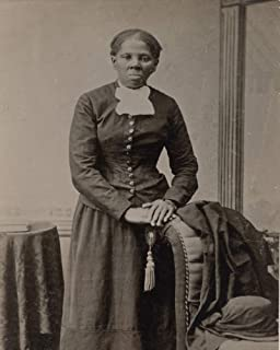 "Harriet Tubman Photograph - Historical Artwork from 1895 - (8"" x 10"") - Semi-Gloss"