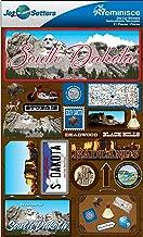 Reminisce Jet Setters 2 3-Dimensional Sticker, South Dakota