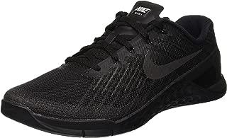 Nike Men's Metcon 3 Training Shoe Black Size 10.5 M US
