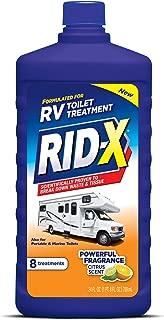 RID-X RV Toilet Treatment Liquid, 8 Treatments, 24 fl oz