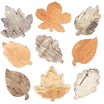 2cm FLAMEER 50stk Unfertige Holzdekoration Geschenketiketten Verzierung Holzscheiben zum Basteln f/ür Hochzeit