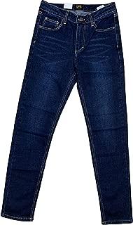 LEE Boy's Straight Leg Jeans, Light Wash Blue