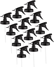 Jarmazing Products Mason Jar Sprayer Lids – Black – 12 pack – with powerful sprayers – fits all Regular Mouth Jars