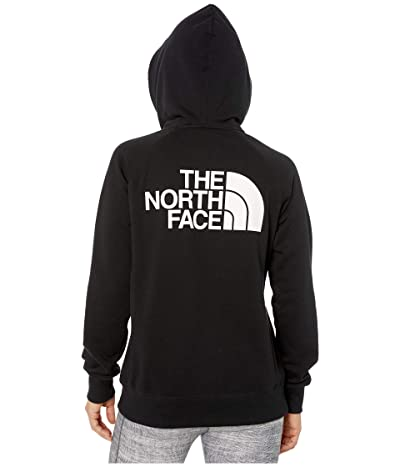The North Face Half Dome Full-Zip Hoodie (TNF Black) Women