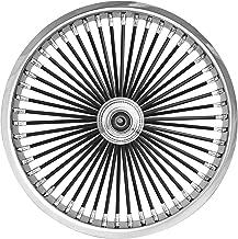 Ride Wright Wheels Inc Exotica Black 50 Spoke 18x5.5 Rear Wheel, Color: Black, Position: Rear, Rim Size: 18 04855-965-KU-EX-BLKSP-ABS-T