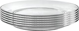 Duralex Made In France Lys 9 Inch Clear Soup Plate, Set of 6